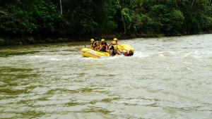 white water rafting in Philippines