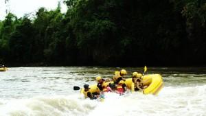Water Rafting Adventure in Philippiines