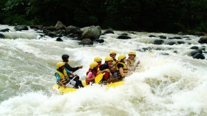water rafting in Philippines