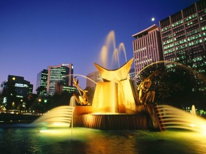 Victoria Square Fountain Adelaide Australia 300x225 Visit Adelaide: Active Pursuits and Spectator Sports in Adelaide