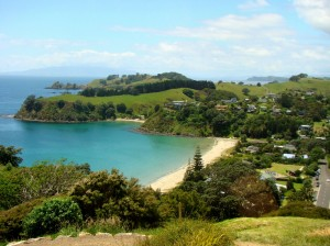 nz beaches palm beach 300x224 Top Five Beaches in New Zealand