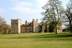 Raby Castle in Staindrop County Durham