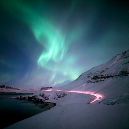 Aurora Lighs in Western Iceland Five Great Reasons to Visit Reykjavik, Iceland