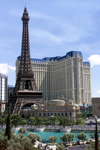 Eiffel Tower in Paris Las Vegas