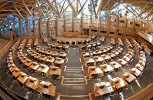 Scottish Parliament, Edinburgh Scotland