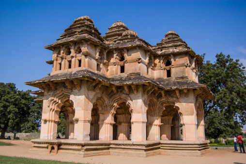 Lotus Mahal at Hampi India