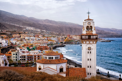 Candelaria, a village in Tenerife, Canary Islands