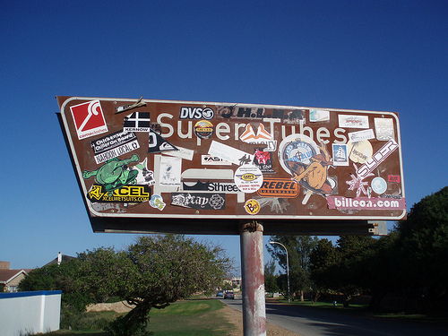 Supertubes in Africa