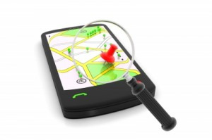 mobile phone with gps