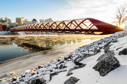 Red Peace bridge