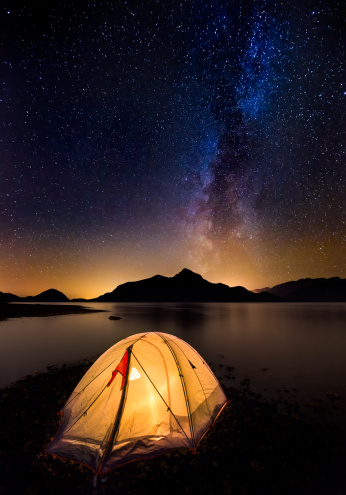 Credit: GettyImages ( Night Camping in Vancouver Island, Canada)