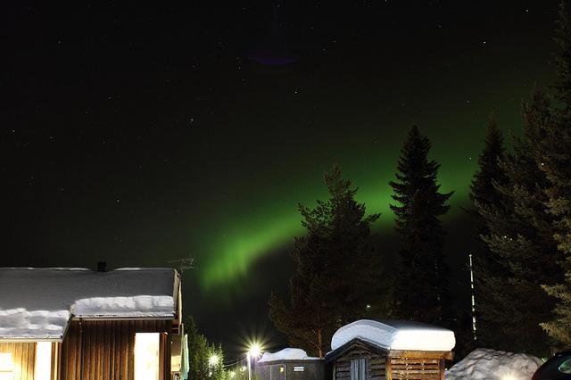 Kakslauttanen  Finland Aurora Lights