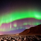 Scotland Northern lights