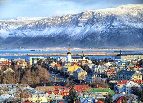 Reykjavik City View