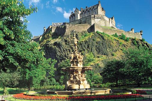 Edinburgh Castle, Scotland, UK