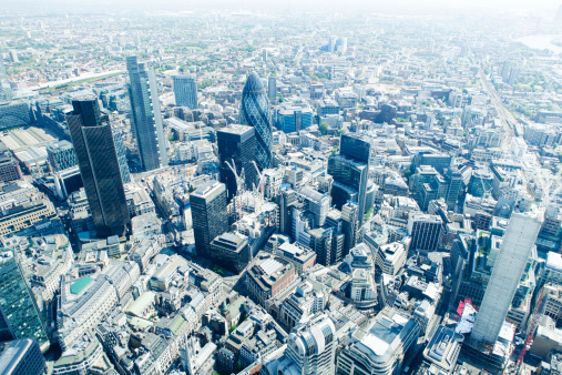 the city of london view